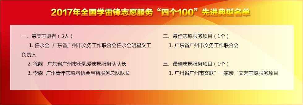 广州志愿服务